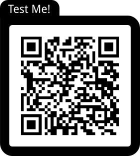 Feedback form with QR code